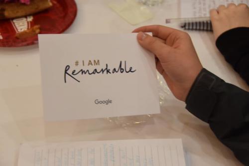 i am remarkable card